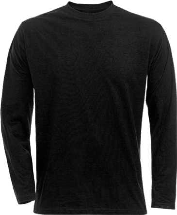 Fristads Acode Long Sleeve Core T-Shirt 1914 HSJ (Black)